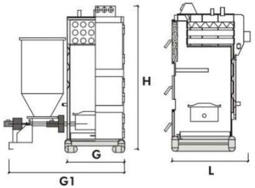 Схема котла Roda EK3G/S
