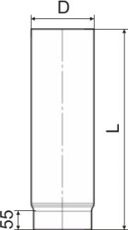 Схема дымоходной трубы