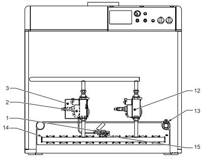 Схема газового котла Ferroli серии PEGASUS 2S